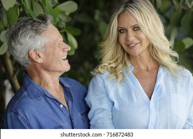 Image of a mature man looking at yous hot young wife