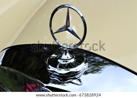 Image Mercedes Benz Car Symbol Stock Photo Edit Now 673828924