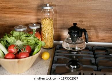 an image of  modern kitchen utensils