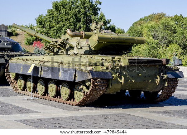 Image Modern Military Tank Cannon Stock Photo (Edit Now