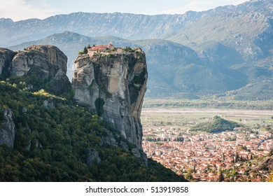 Image of monastery of Holy Trinity  in Meteora, Greece