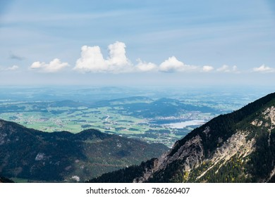 Image mountains near Nesselwaengle of the Tannheimer Tal in Austria, Europe