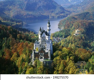 An Image of Neuschwanstein Castle