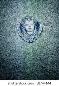 An image of a nice angel face marble background