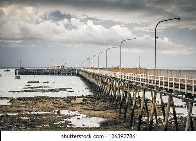 An image of the nice jetty at Broome Australia