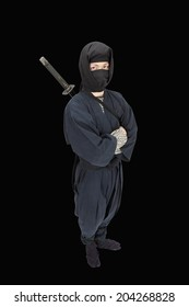 An Image of A Ninja