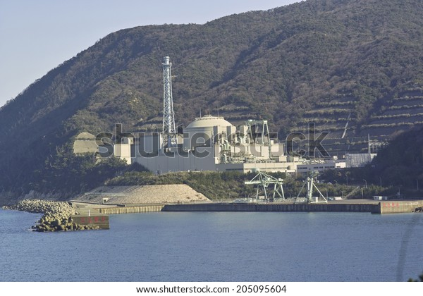 An Image of Nuclear Power Plant