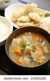 An image of Oita Dago soup