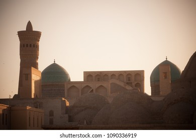 Image of the old city in Bukhara, Uzbekistan.