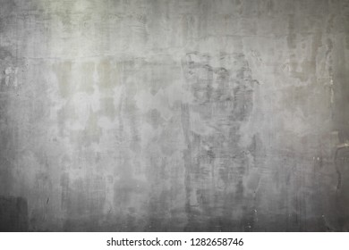 Image of old gray concrete wall background