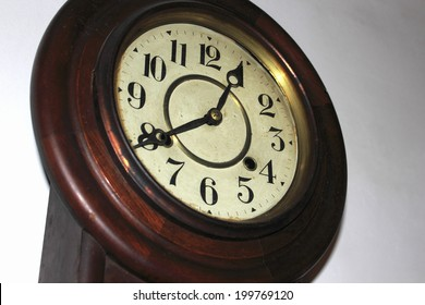 An Image of Old Wall Clock