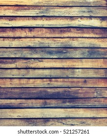 image of old wooden wall background texture.(vintage tone)
