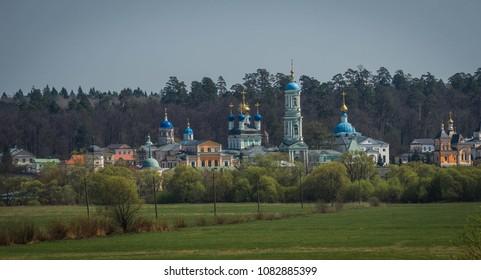 Image of Optina Pustyn in Kaluga region in Russia