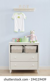 the image of parenting and baby boy room