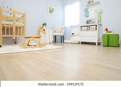 the image of parenting and baby room