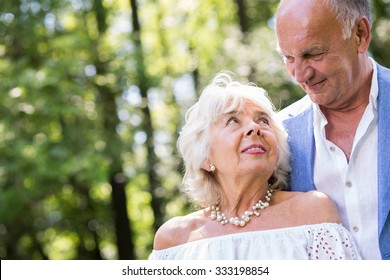 Image of passion and love in happy mature marriage