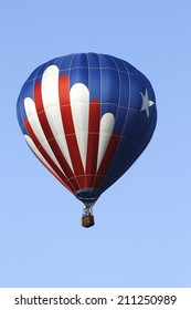 Image of a Patriotic Hot Air Balloon