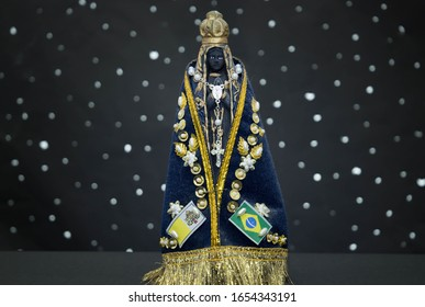 Image of the patron saint of Brazil Our Lady of Aparecida