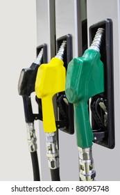 The image of petrol pump