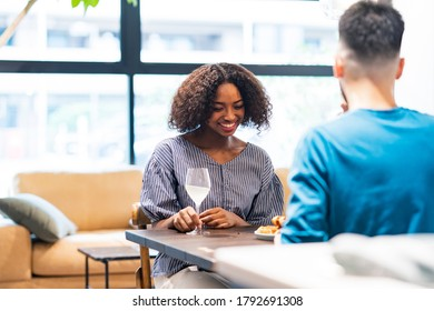 Image photograph of man and woman chatting ( lovers / couples ) - Shutterstock ID 1792691308