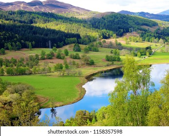 An image of Queens View on Loch Tummel, Perthshire, Scotland.