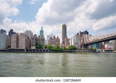 An image of the Queensboro Bridge New York