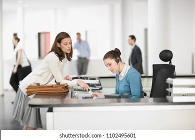 Image of Receptionist