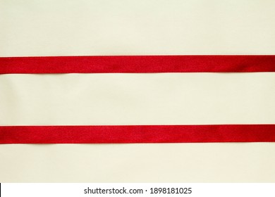 Image of red ribbon present