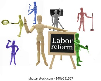 Image of reform of working style