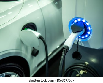 Image of renewable energy electric cars