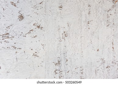 image of rouh white wall made from cane pulp texture .