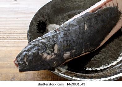 Image of seared skipjack tuna