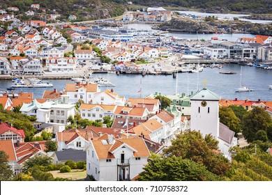 Image of the seaside resort of Marstrand on the Swedish west coast.