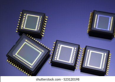 Image sensor/A sensor element that converts an image into an electric signal. It is also used for mobile phones, cameras, cars and others.