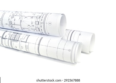 Image of several isolation drawings for the project engineer jobs