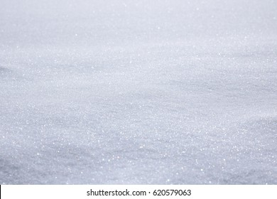 Image showing a bumpy area of sparkling snow.