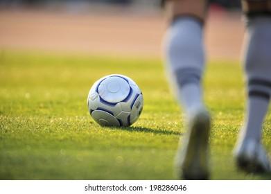 An Image of Soccer Ball