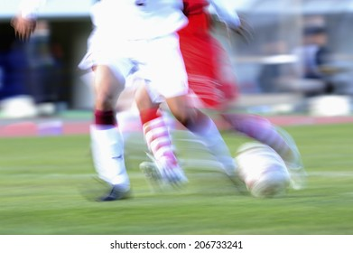 An Image of Soccer Scene
