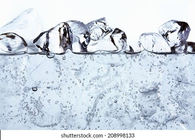 An Image of Soda Water