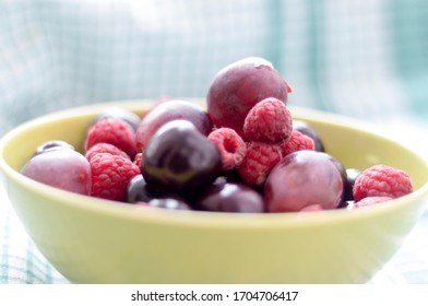 image of soft fruit straberries and grapes