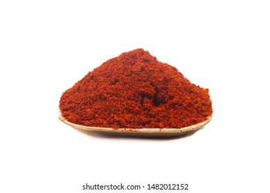 Image of spices isolated close up.