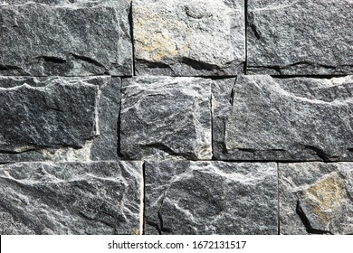 Image Of Stone Tilled Wall Texture Background.