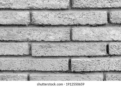 image of stone wall in rural environment, black and white image