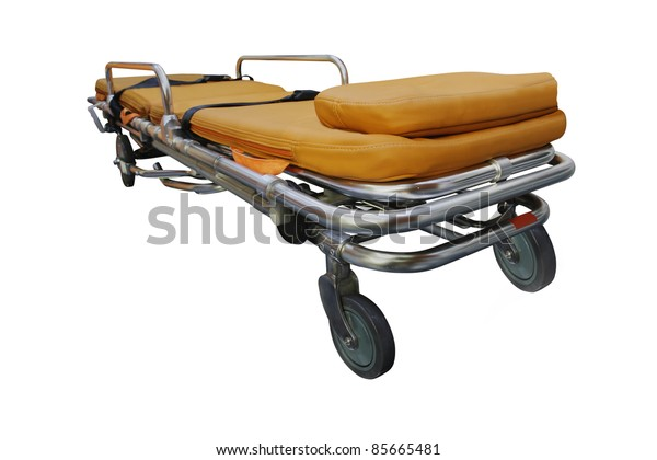 The image of stretcher under the white background.