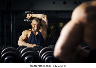 An image of a strong male bodybuilder