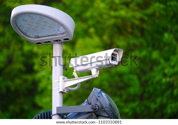 the image of a Surveillance camera