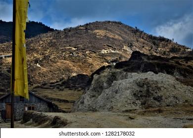 Image taken on the way to Sandakphu near Tumling.