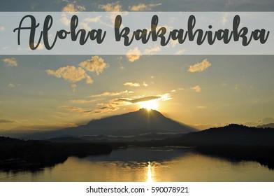 Aloha kakahiaka
