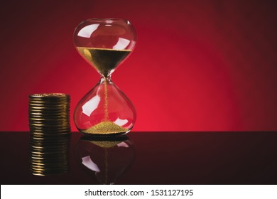 An image of time is money