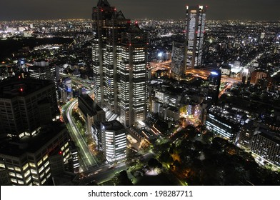 An Image of Tokyo Night View